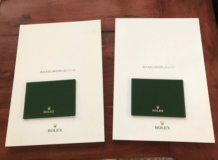 Rolex - 4x items Baselworld 2016, 2017 - see all photos  - Unissexo - 2016-2017
