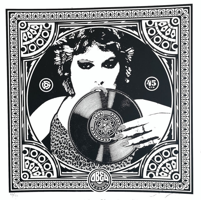 Shepard Fairey (OBEY) - Punk Girl