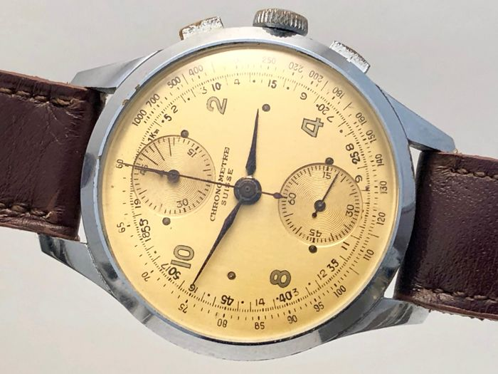 Chronometre Swiss - Bărbați - 1960-1969