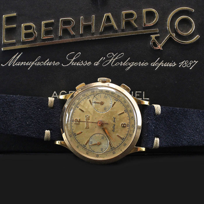 Eberhard & Co. - Extra Fort 18 Carati - Homme - 1950-1959