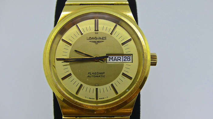 Longines - Flagship Automatic - 9444633 - Heren - 1970-1979