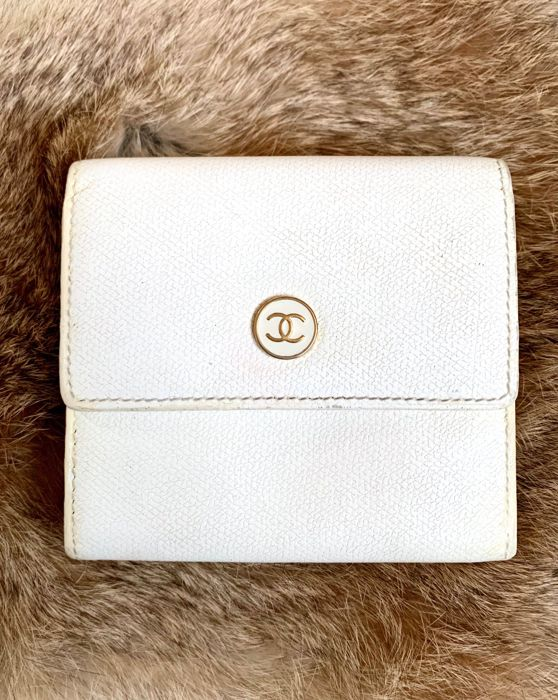 Chanel - two faces short wallet Portemonnee