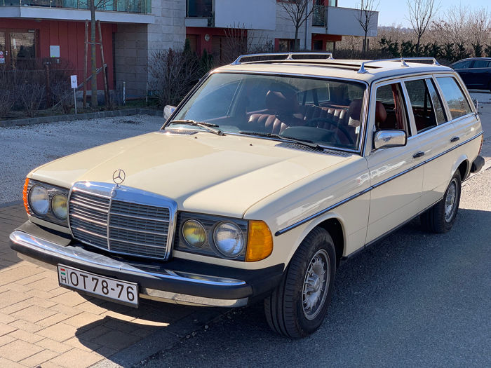 Mercedes-Benz - w123 300T Turbo Diesel - 1981