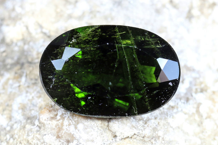 diopside - 7.24 ct