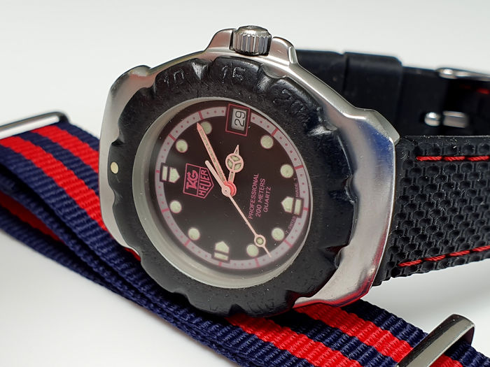 TAG Heuer - Formula one vintage  + free webbing army style strap - Men - 1980-1989