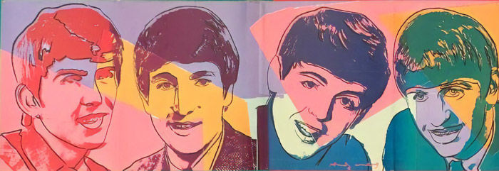 Andy Warhol - The Beatles - 1980