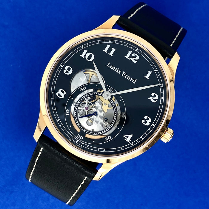 "Louis Erard - 1931 Manual Winding Small second Rose Gold ""NO RESERVE PRICE"" - 32217PR32.BRV32 - Heren - BRAND NEW"