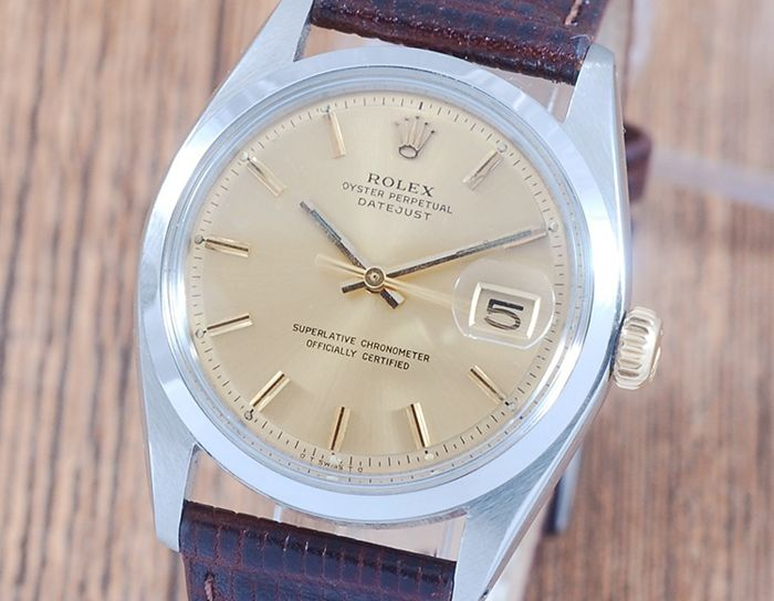Rolex - Oyster Perpetual DateJust  - 1600 - Hombre - 1970-1979