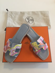 718417e5d8 Hermès - Ladies sandals [Oranes] by Hermes Sandals - Size: IT 39