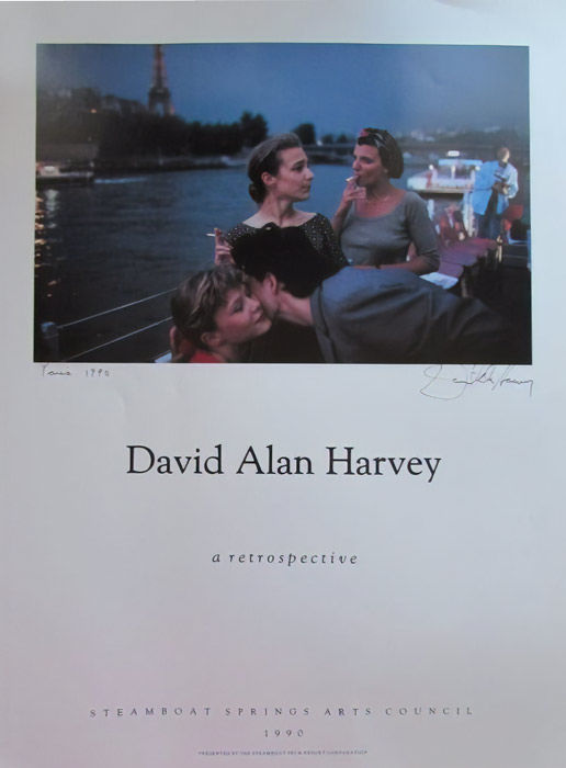 David Alan Harvey - A retrospectve (signed) - 1990
