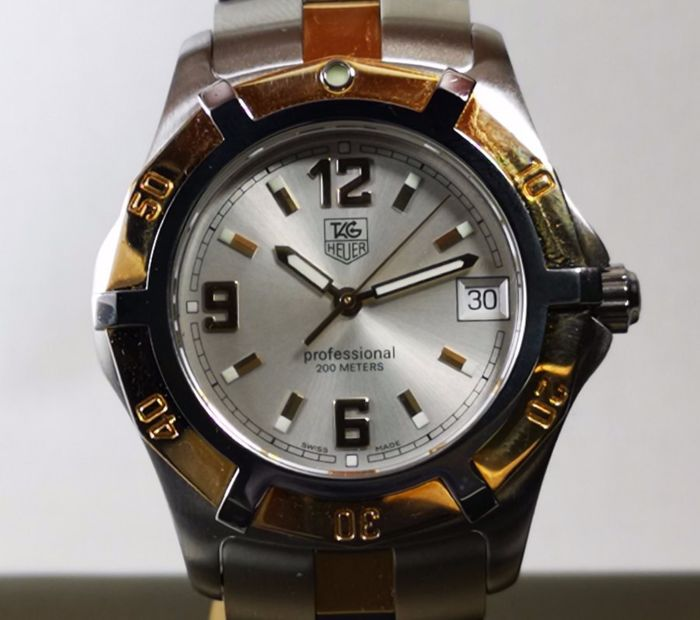 "TAG Heuer - 2000 Professional Exclusive 200M l ""NO RESERVE"" - REF WN1153 - Herren - 2000-2010"