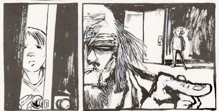 The Nightmare Factory - Ted McKeever - Original Art Page 'Dr
