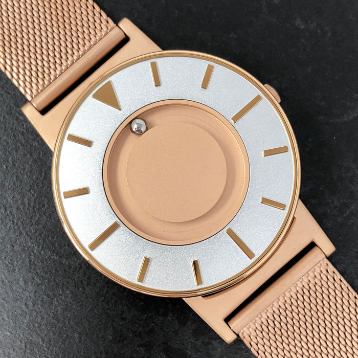 EONE - Bradley Rose Gold with Mesh Strap Swiss Movement - BR-RO-GLD - Unisex - Brand New