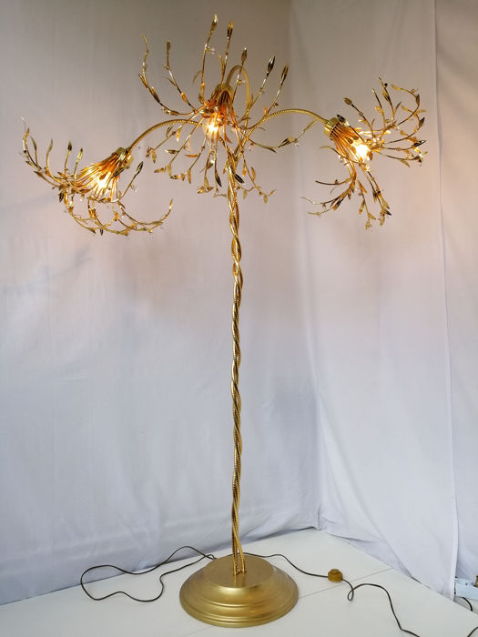 Manufactura Italiana Floor Lamp Palm Tree Floor Lamp 170 Cm Catawiki