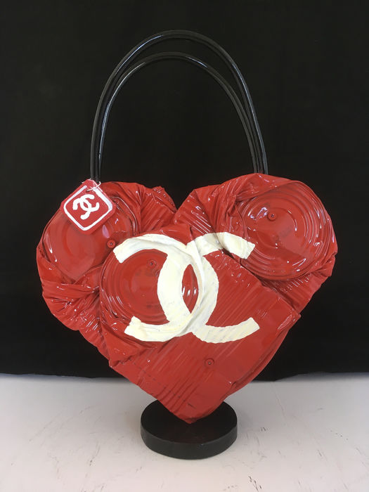 Norman Gekko - Crushed Chanel handbag