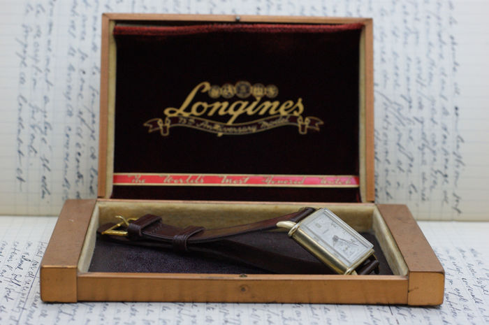 Longines - U.S.A By Longines Wadsworth 10K Gold Filled Rare! - T448826 - Heren - 1901-1949