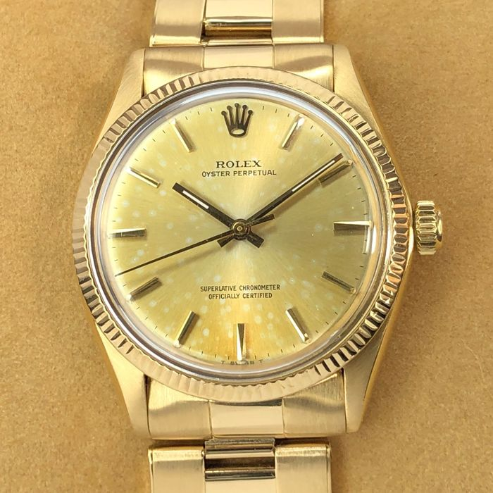 Rolex - Oyster Perpetual 18k - 1005 - Unisex - 1960-1969