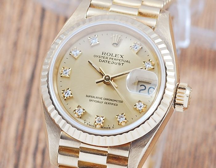 Rolex - Oyster Perpetual DateJust  - 69178 - Mujer - 1980-1989