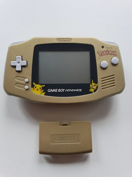 Nintendo Gameboy Advance GBA Gold Pokemon New York Gameboy Advance - Konsole - Komplett renoviert
