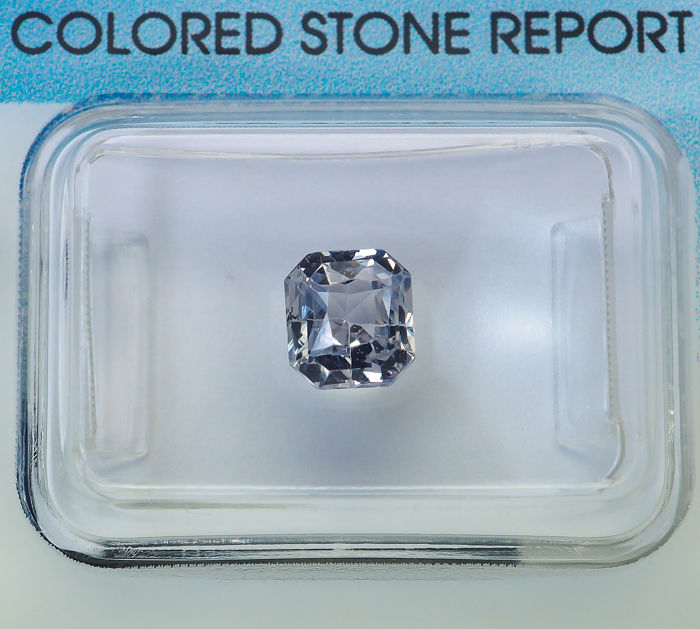 No Reserve - Light Blue Sapphire  - 1.40 ct