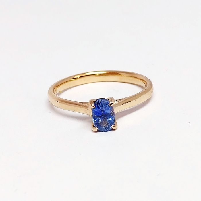 18 kt. Pink gold - Ring - 0.67 ct Sapphire