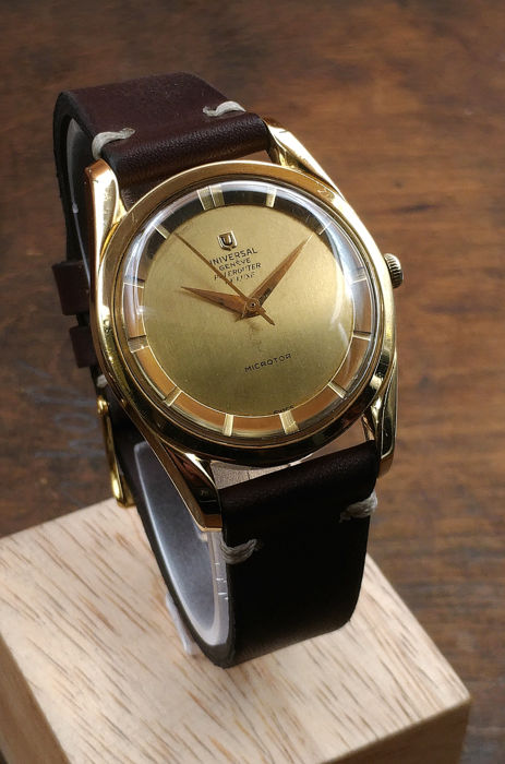 Universal Genève - Polerouter De Luxe 18 kt Gold Automatic - 10357-1 - Uomo - 1950-1959