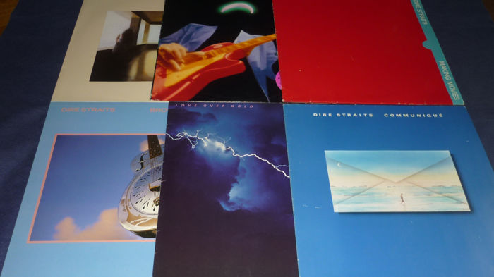 Dire Straits - 6 Historic Albums incl. Portugal Press - Diverse titels - LP's - 1978/1988