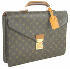 5130585ba1 Louis Vuitton - Monogram Serviette Conseiller Business Ventiquattrore