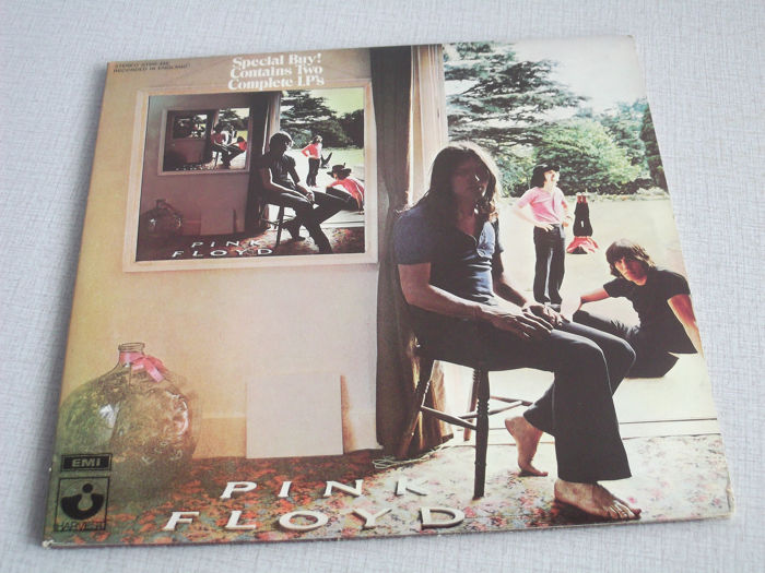 Pink Floyd 50 & 40 years ago - 2 Double Albums in Pristine Conditions! - Ummagumma & The Wall  - Album 2xLP (doppio) - 1969/1979