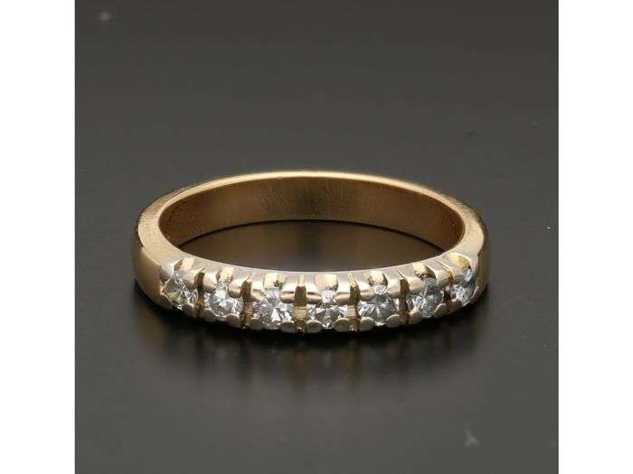 18 karaat Goud - Ring - 0.28 ct Diamant