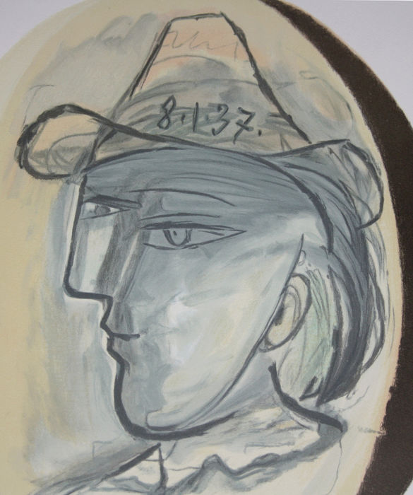 Pablo Picasso (after) - Tête