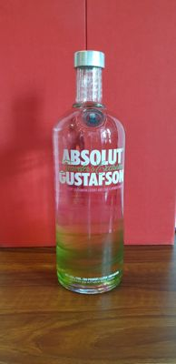 Absolut 2011 - Gustafson limited edition with 3 gouaches - 1,0 litri