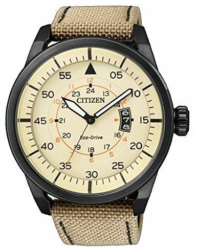 Citizen - Collezione Aviator Date Movimento Eco Drive - AW1365 - Hombre - 2019