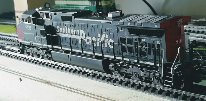 MTH H0 - 80-2306 - Diesel locomotive - Dash-9 - Southern Pacific