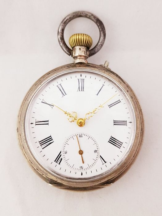 Patent G.T.  pocket watch -  NO RESERVE PRICE - Uomo - 1901-1949