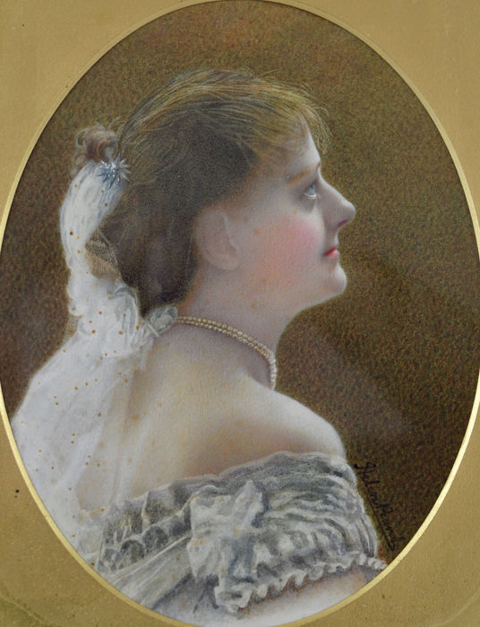 Helen Pearce? (19th century) - A portrait of a young woman