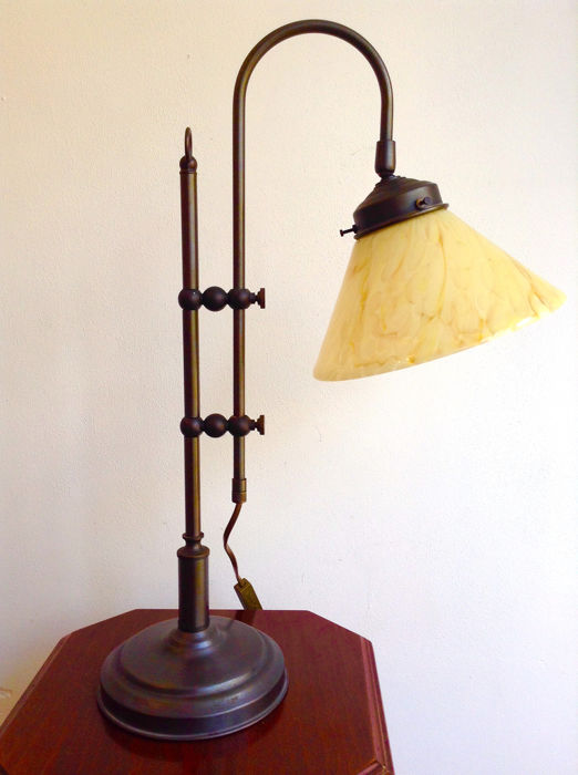 Table lamp - Copper-Glass