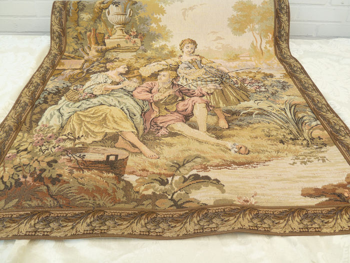Embroidery, Gobelin, Tapestry - Louis XV Style