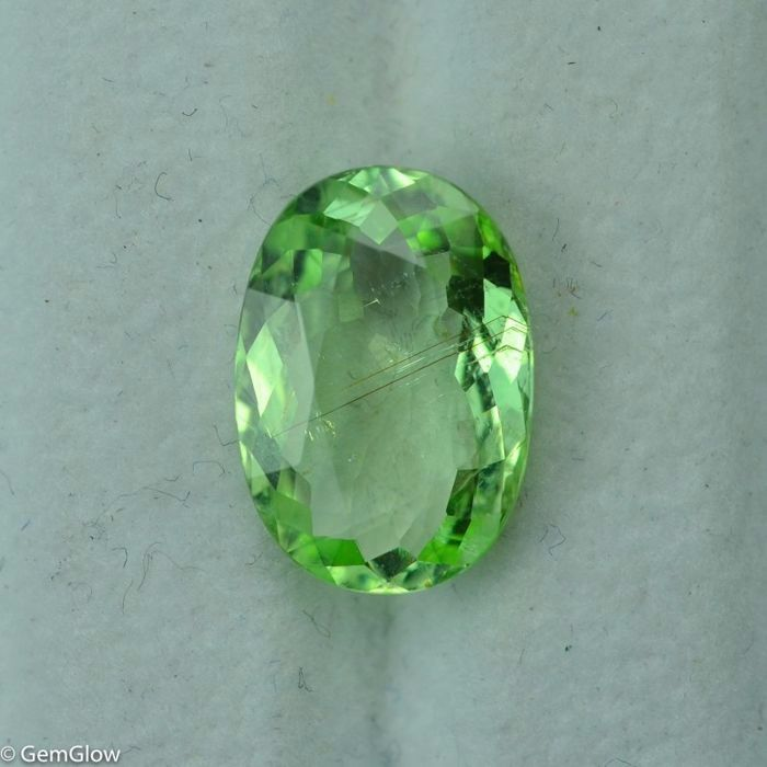 Green Cuprian Tourmaline - 4.42 ct