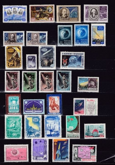 Oost-Europa 1954/1973 - Astrophilately - Russia Hungary -  Sets Complete Set, Block