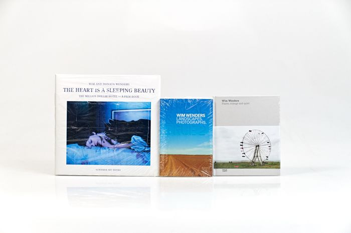Wim Wenders - Lot with 3 books - 2000/2015