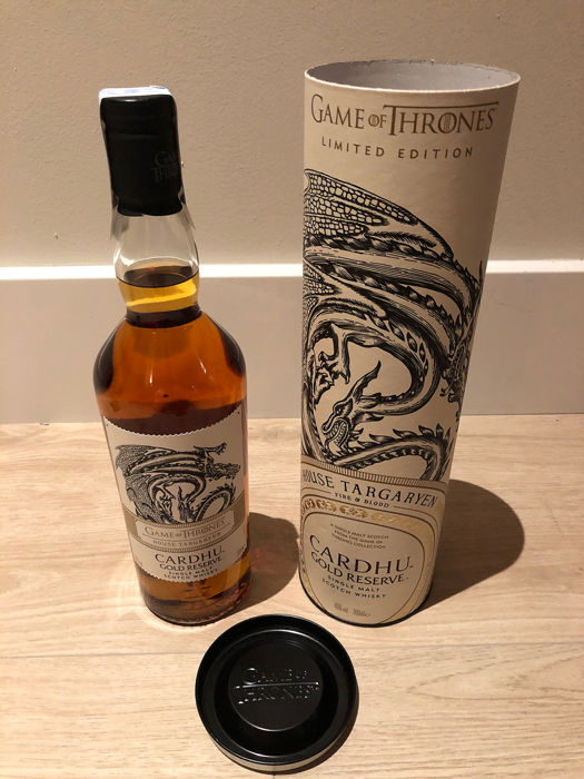 Cardhu (Cardow) Gold Reserve - Game of Thrones Collection Limited Edition - 0,7 Liter