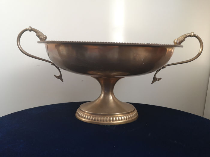 Large Coupe in Louis Quinze Style - Brass
