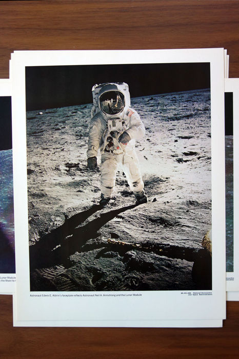 Apollo 11 - Twaalf officiële NASA Photoprints - Amerikaanse NASA Prints