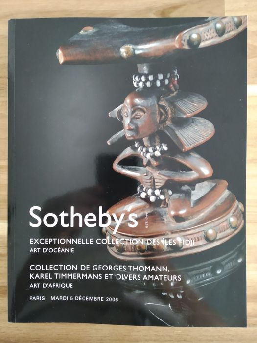Catalogues (4) - Paper - Sotheby's catalogues with important