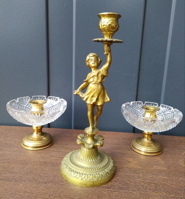 Candlestick (3) - Neoclassical Style