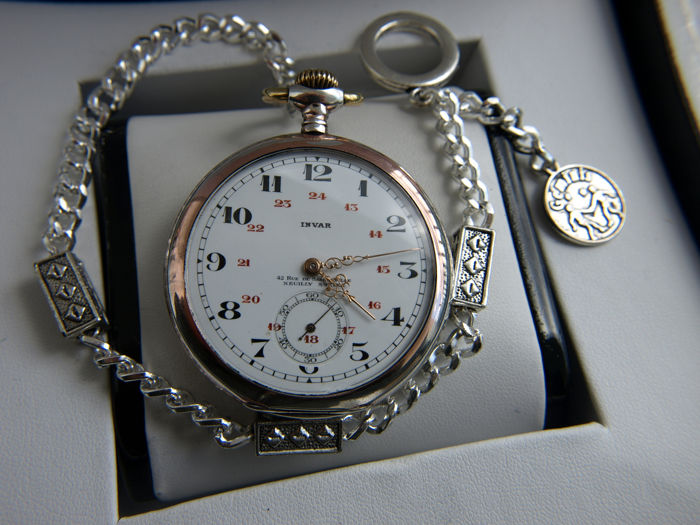Invar   -  pocket watch NO RESERVE PRICE - 116734 - Uomo - 1901-1949