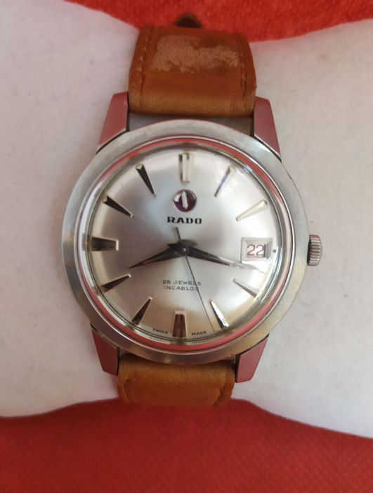 Rado - Automatic Date - 25 Jewels - Anchor Moving - 343942 - 345602 - Hombre - 1960-1969