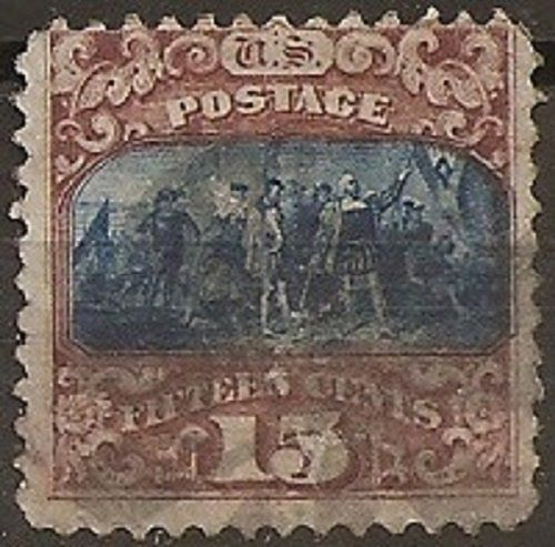 Verenigde Staten 1869 - U.S.A. Lot 10, used stamp with grill - Unificato 39