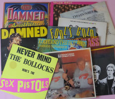 Set of 14 iconic punk and wave albums - 多位藝術家 - Sex Pistols, The Damned, Stranglers, Undertones, etc - 多個標題 - LP's - 1977/1985
